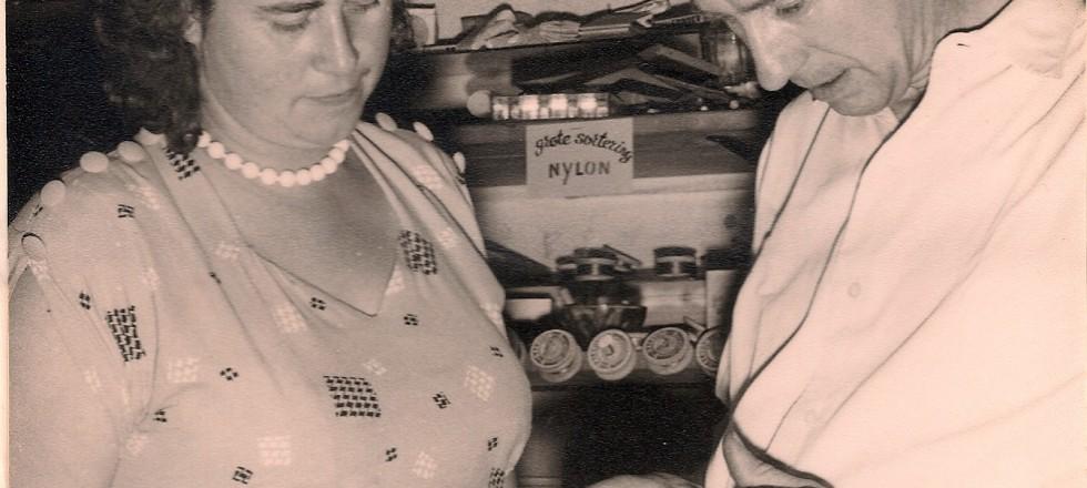 Jan en Luus Haitsma, 1957