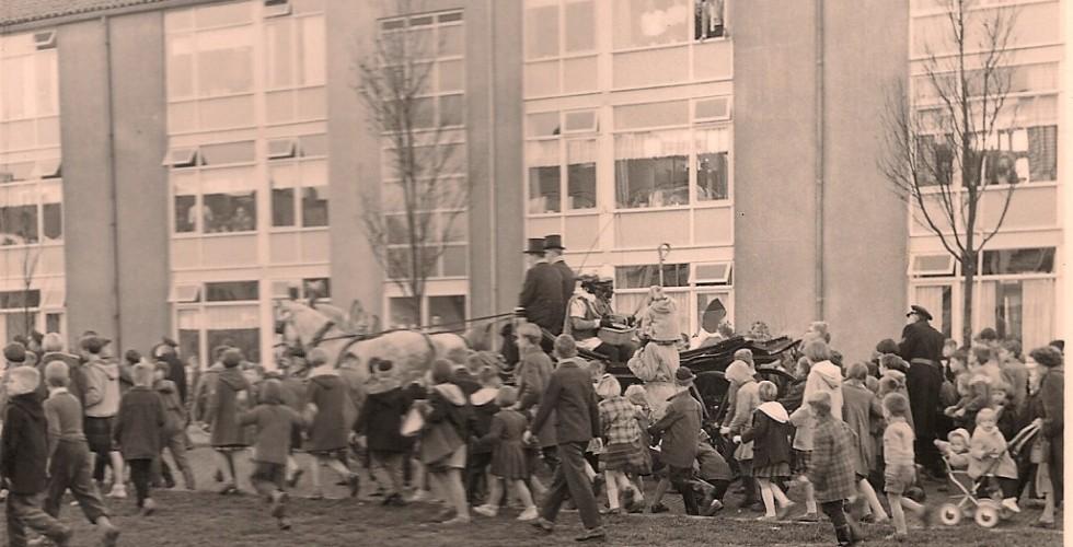 Haitsma Sinterklaas 1959 Margrietstraat