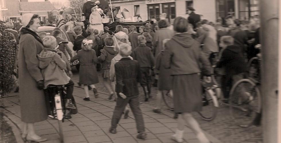 Haitsma Sinterklaas 1959 Nassaustraat